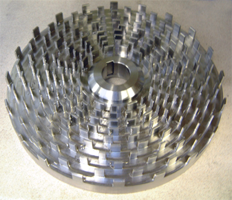 Mixer stainless steel rotor